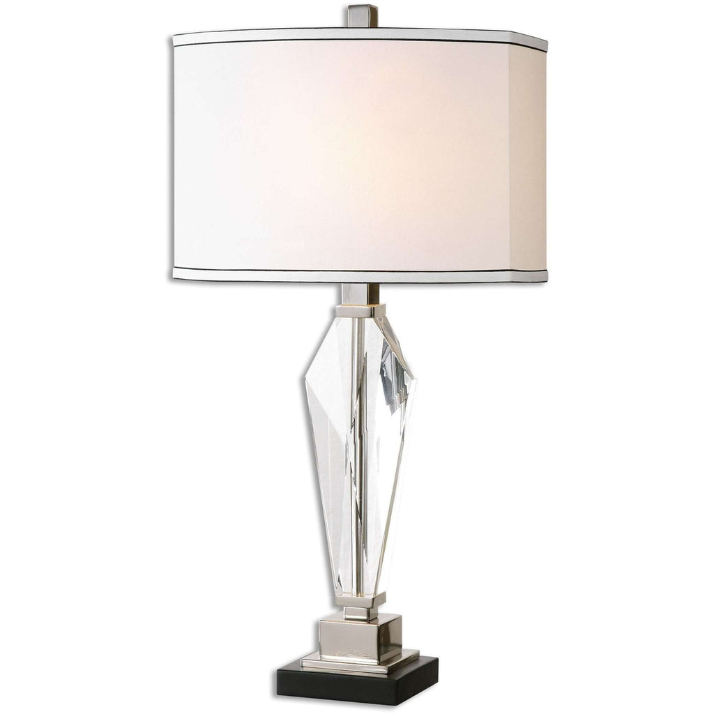Uttermost Altavilla Crystal Table Lamp