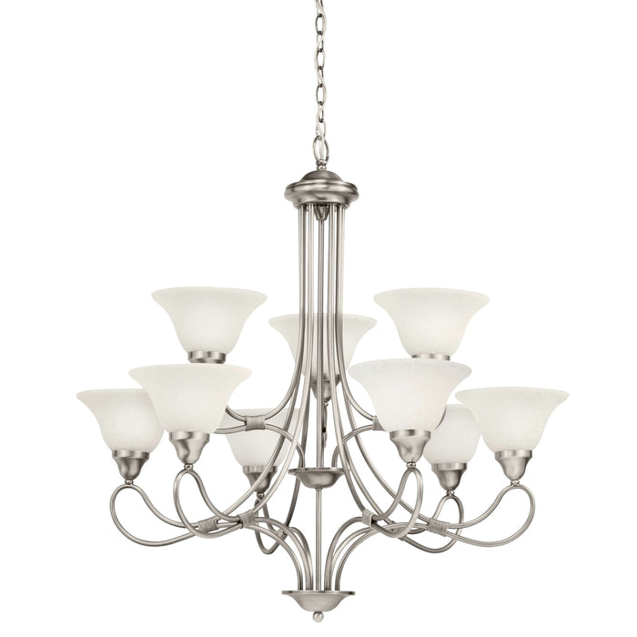 Stafford Chandelier 9 Light - Antique Pewter