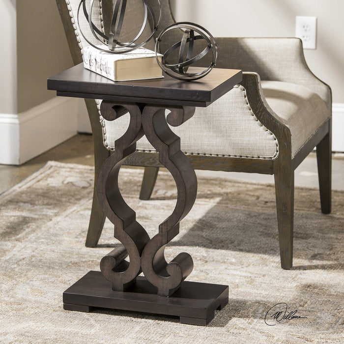 Parina Ebony Accent Table