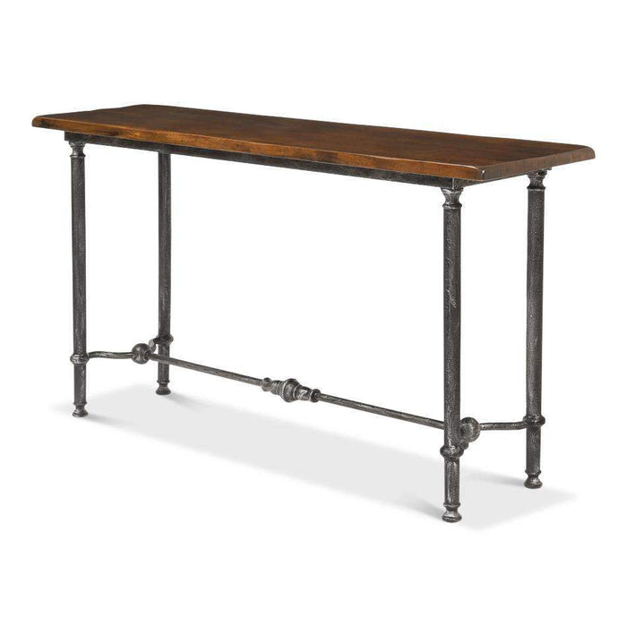 Layton Lodge Console Table  Natural Fnsh