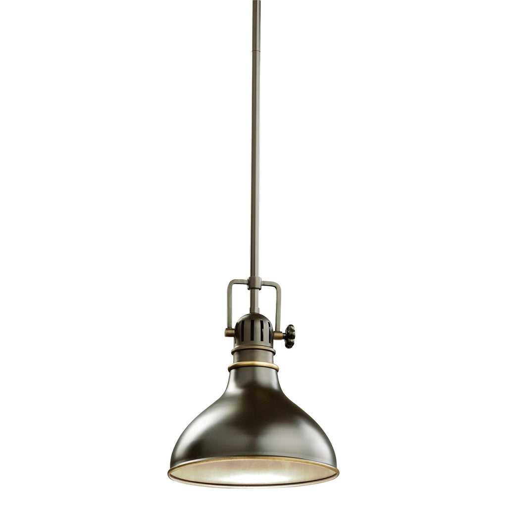 Hatteras Bay Mini Pendant 1 Light - Olde Bronze