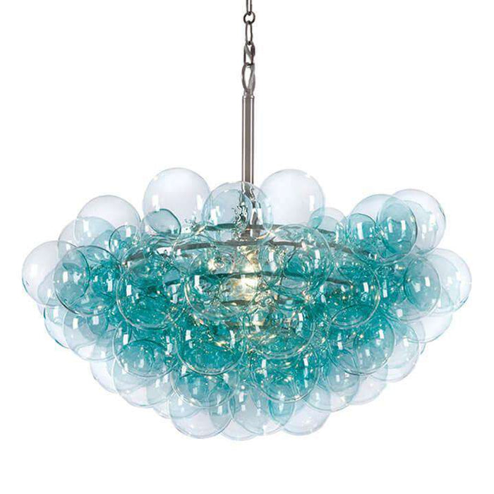 Bubbles Chandelier (Aqua)