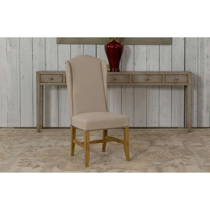 High Back Dining Chair [Set of 2]