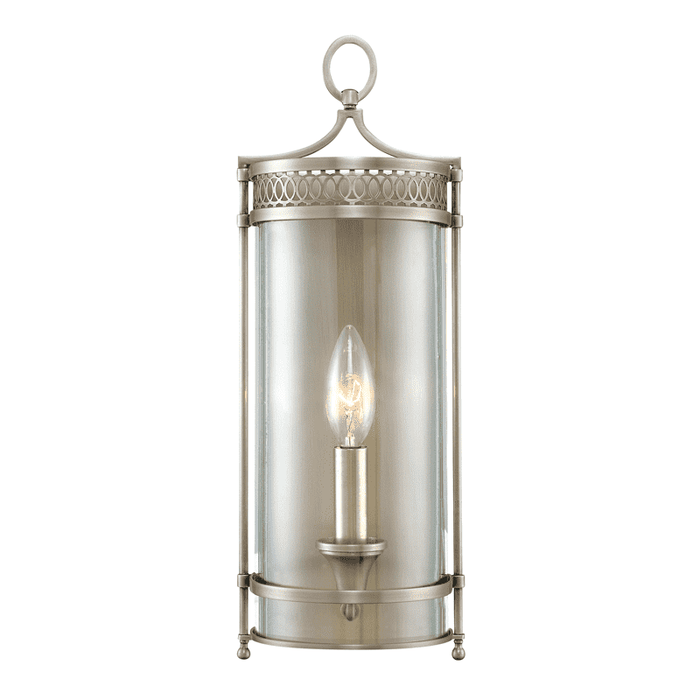 Amelia 1 Light Wall Sconce Antique Nickel