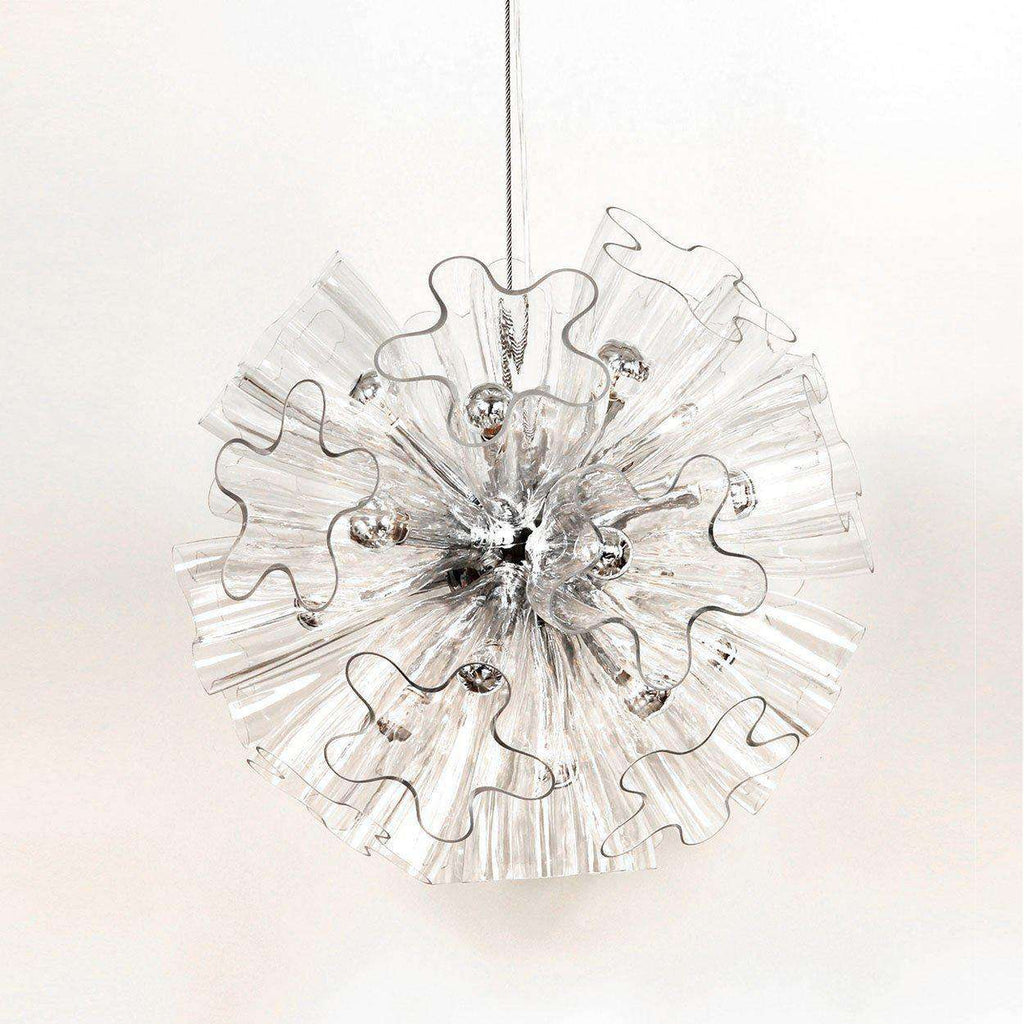 Mid-Century Modern Reproduction Blum Suspension Light - Transparent Inspired by Marcello Furlan