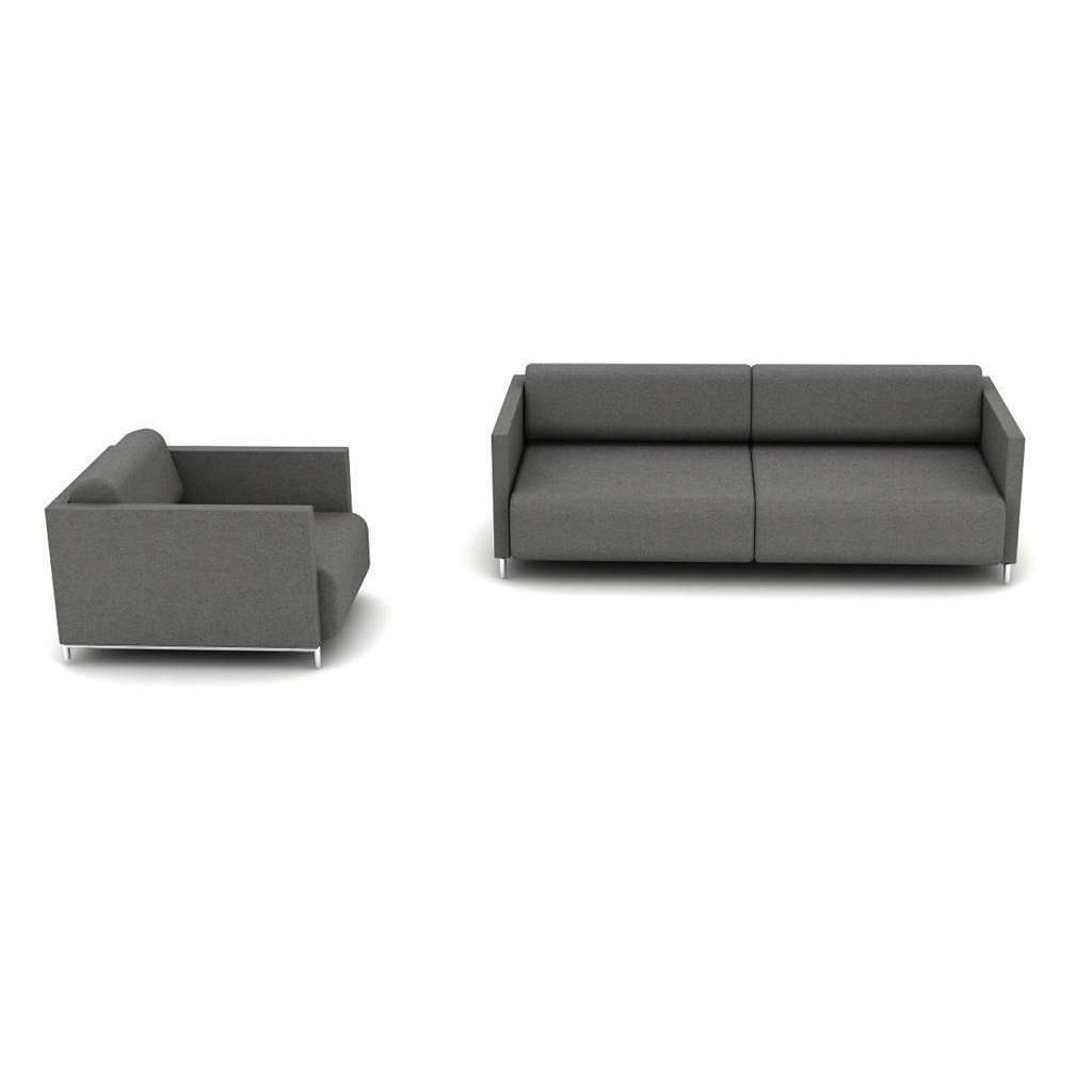 Grey Single Sofa