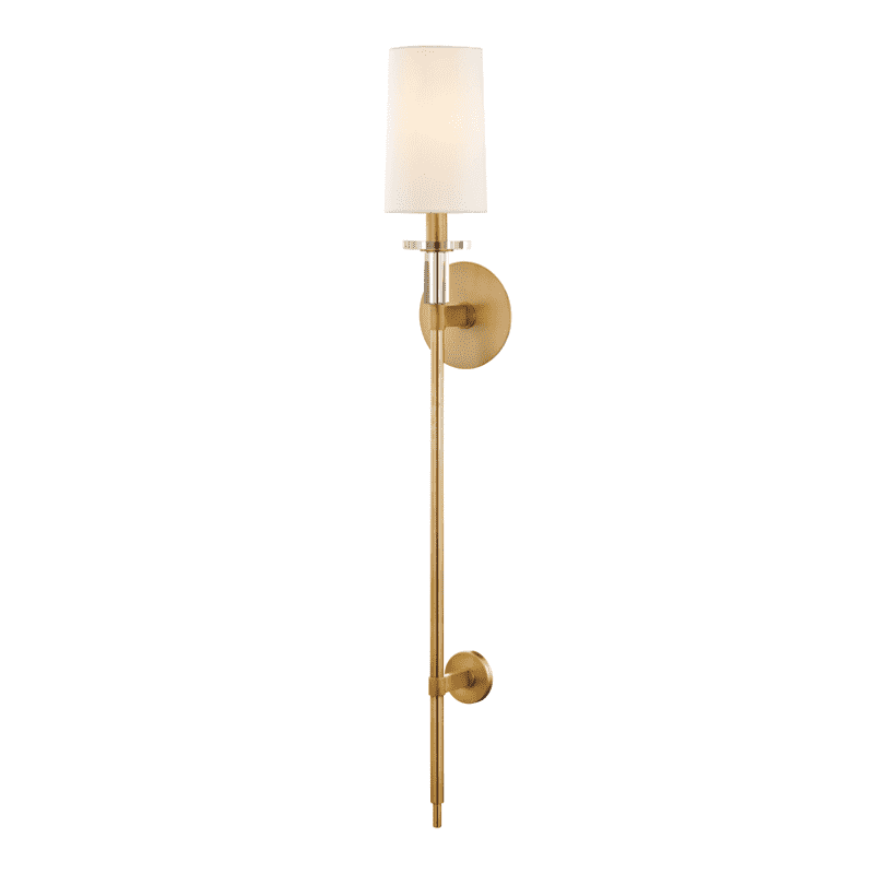 Amherst 1 Light Wall Sconce Aged Brass