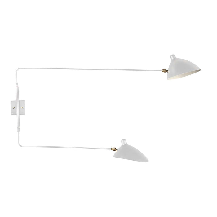 MSC-R2 Rotating Wall Sconce - White