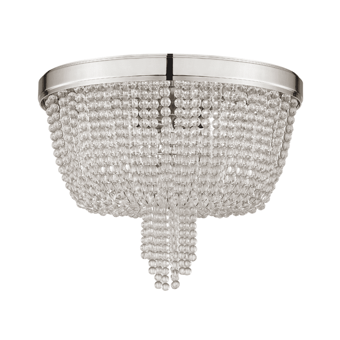 Royalton 4 Light Flush Mount Polished Nickel