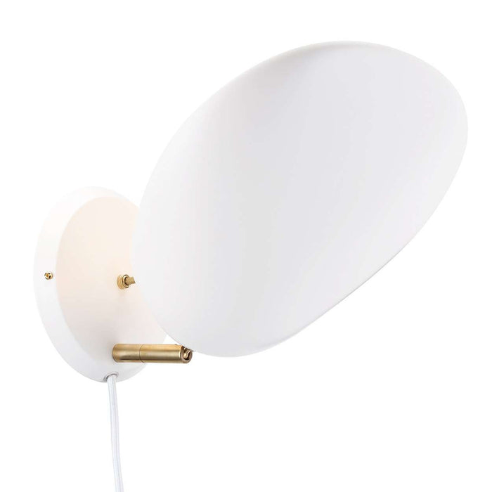 Grossman Cobra Wall Sconce - White