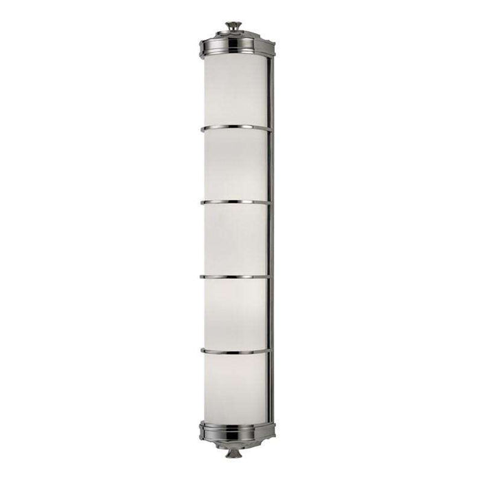 Albany 4 Light Wall Sconce Polished Nickel