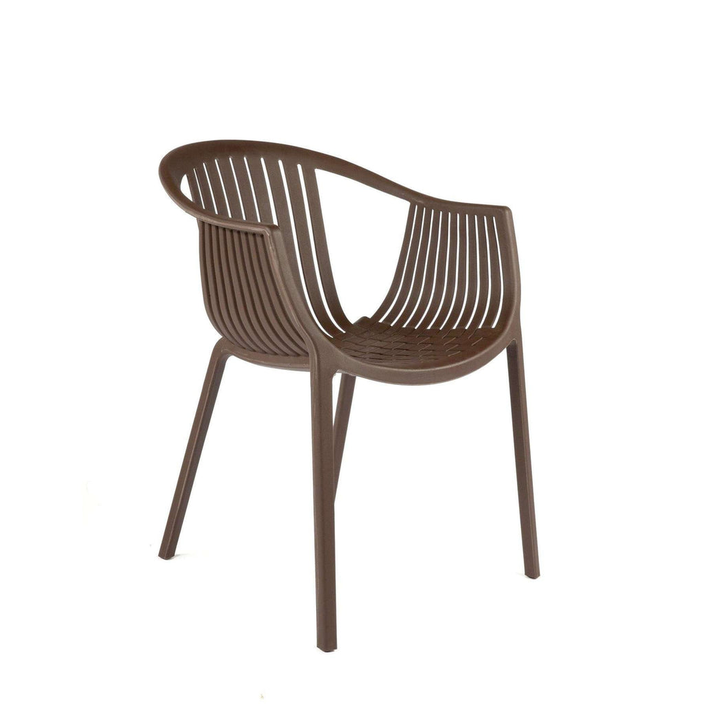 Mid-Century Modern Reproduction Tatami 306 Cafe Armchair Inspired by Dondoli & Pocci