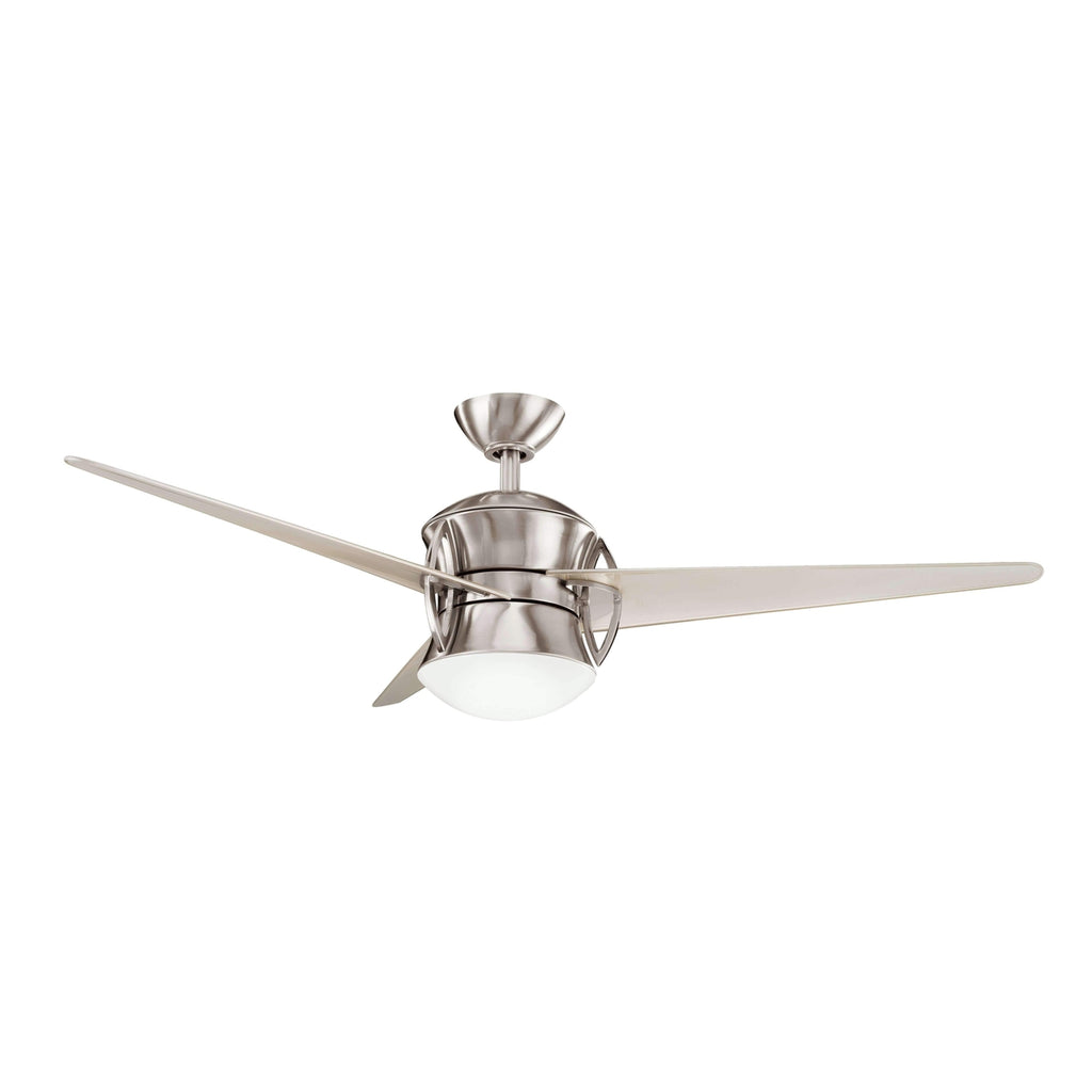 Cadence 54 Inch Cadence Fan - Brushed Stainless Steel