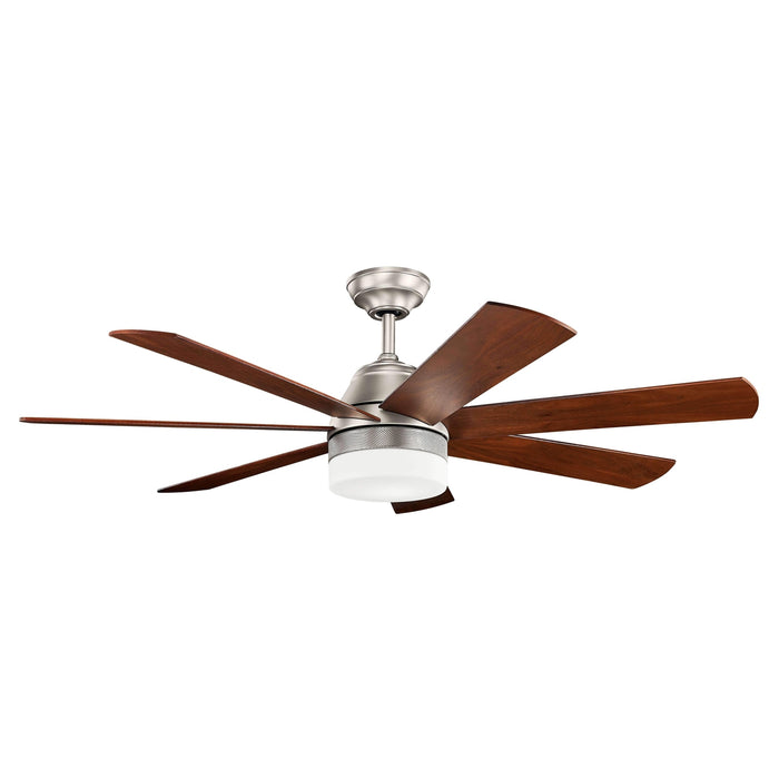 56 Inch Ellys LED Fan - Brushed Nickel