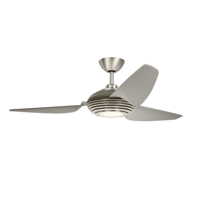 Voya 60 Inch LED Fan - Brushed Stainless Steel