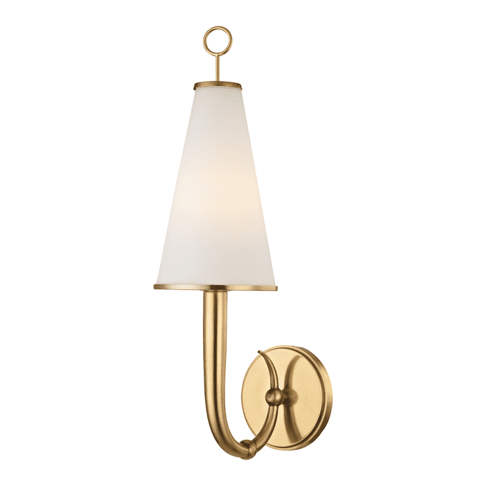 Colden 1 Light Wall Sconce Aged Brass