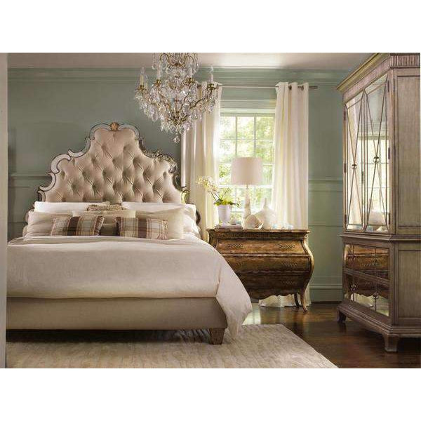 Sanctuary Tufted Bed - Bling