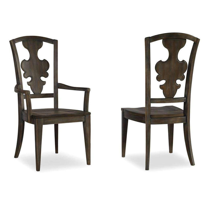 Sanctuary Side Chair-Greige Journey-Set of 2