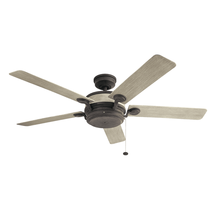 Uma 60 Inch Fan - Weathered Zinc