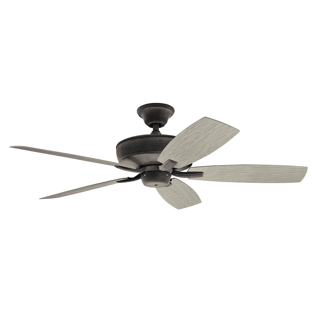 52 Inch Monarch II Patio Fan - Weathered Zinc
