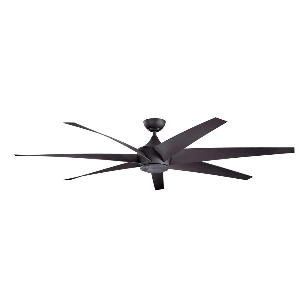 80 Inch Lehr Fan - Distressed Black