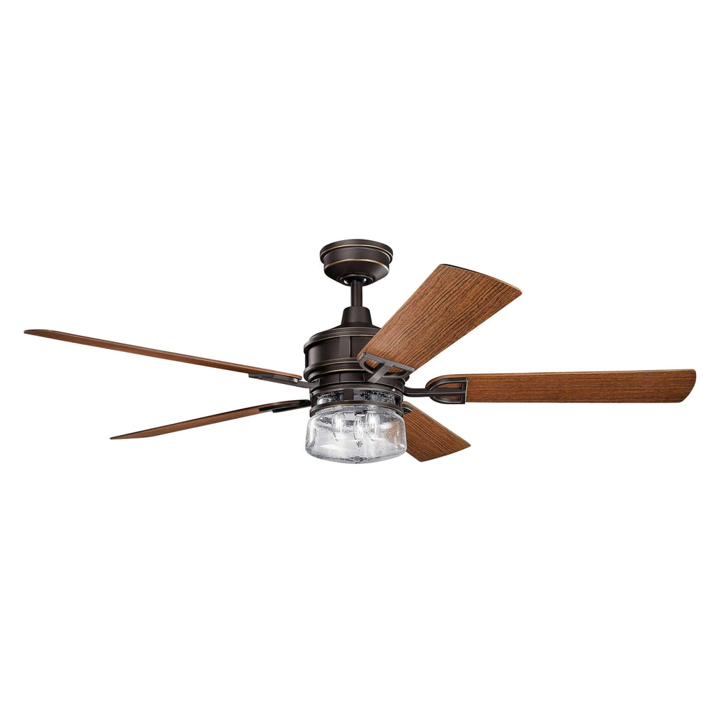 60 Inch Lyndon Patio Fan - Olde Bronze