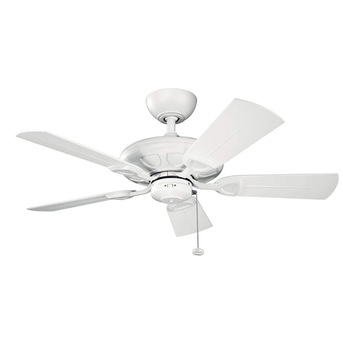 42 Inch Kevlar Fan - Matte White