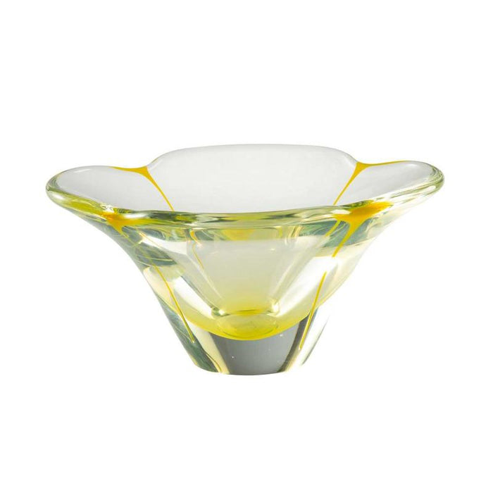 Petal Yellow Small Bowl