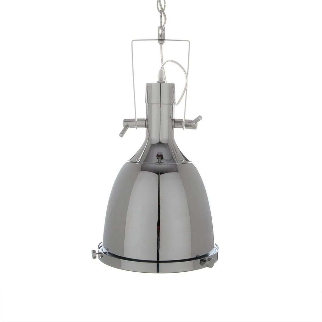 Modern Ovu Pendant Lamp - Chrome