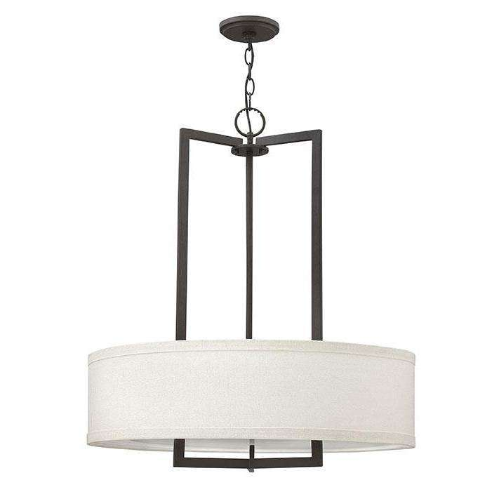 Hampton Chandelier Buckeye Bronze