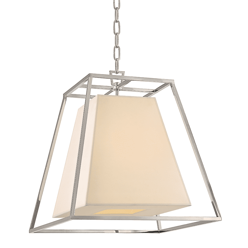 Kyle 4 Light Pendant Polished Nickel