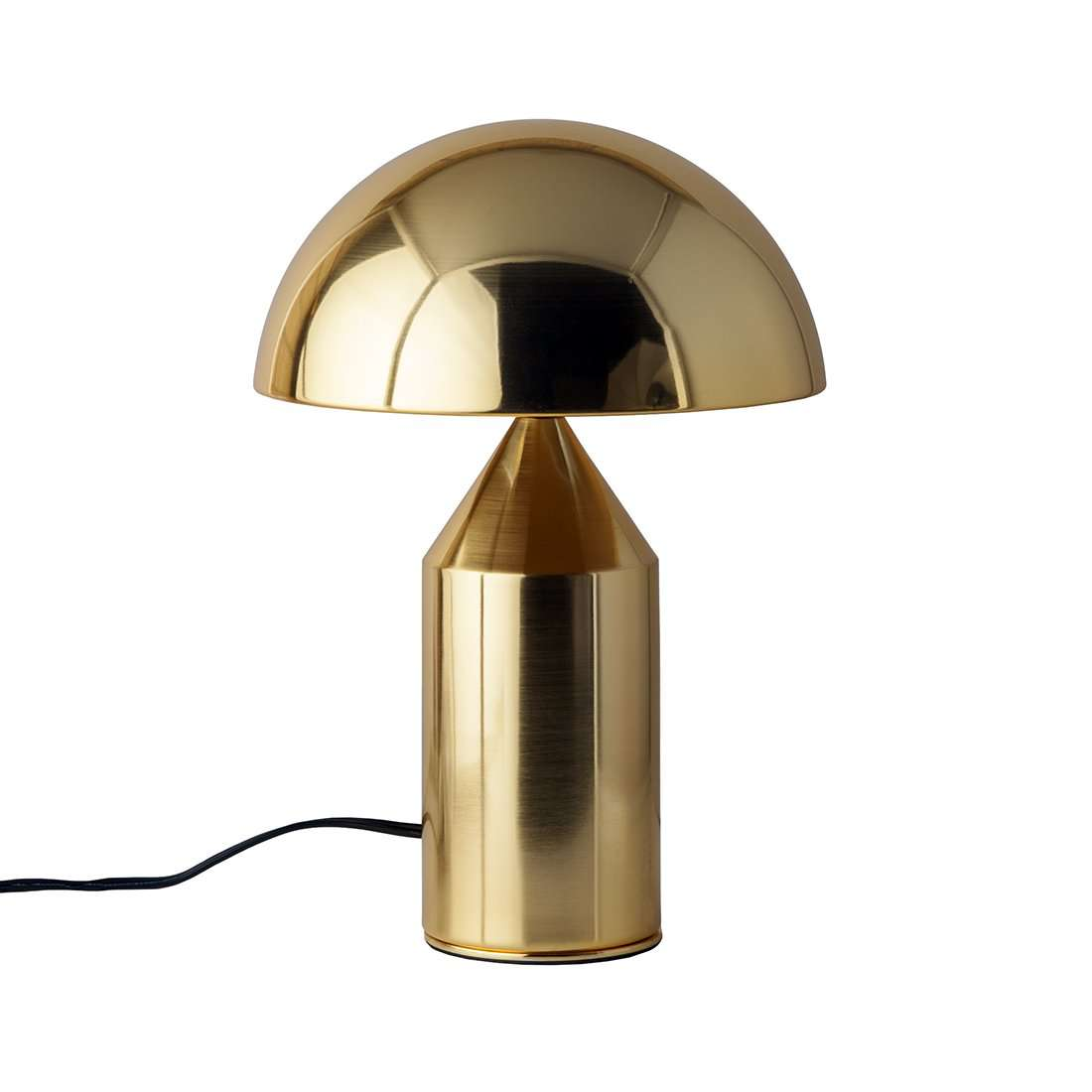 Mid Century Mushroom Table Lamp Brass France Son