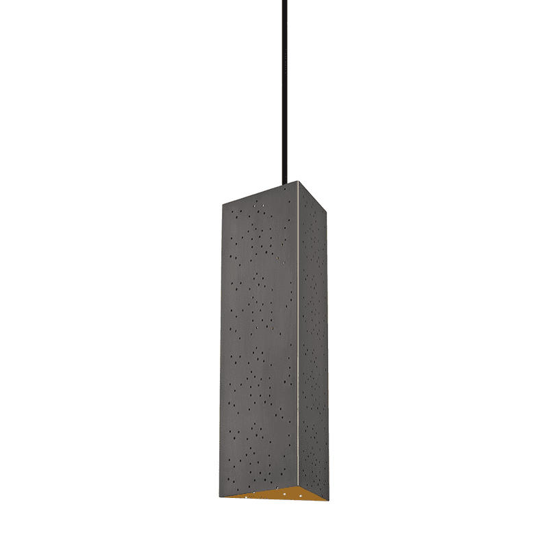 Aiko 1 Light Pendant - Old Bronze