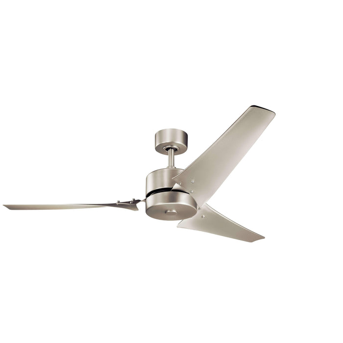 60 Inch Motu Fan - Brushed Nickel