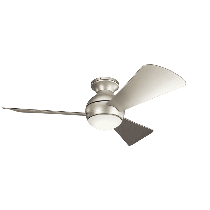 Sola 44 Inch LED Fan - Brushed Nickel