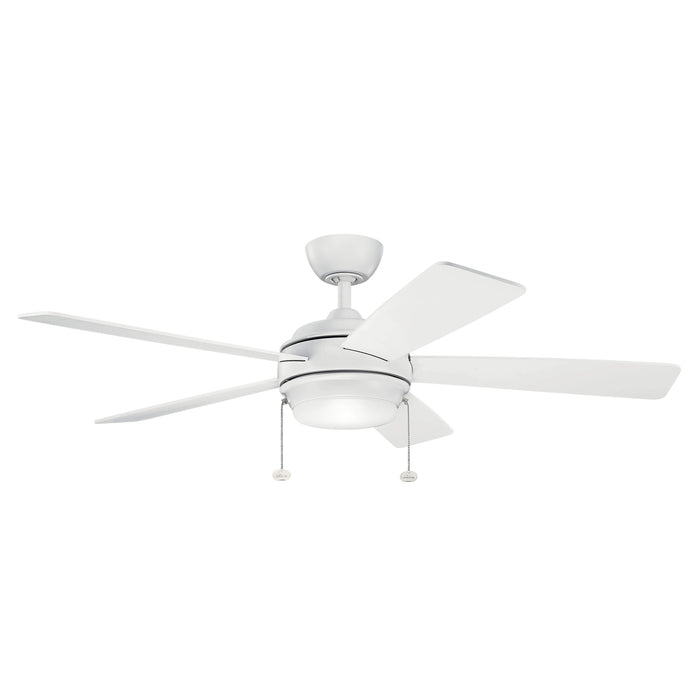 Starkk 52 Inch LED Fan - Matte White