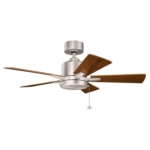 42 Inch Bowen Fan - Brushed Nickel