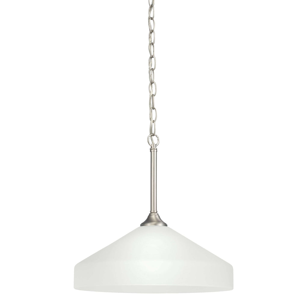 Ansonia Pendant 1 Light - Brushed Nickel