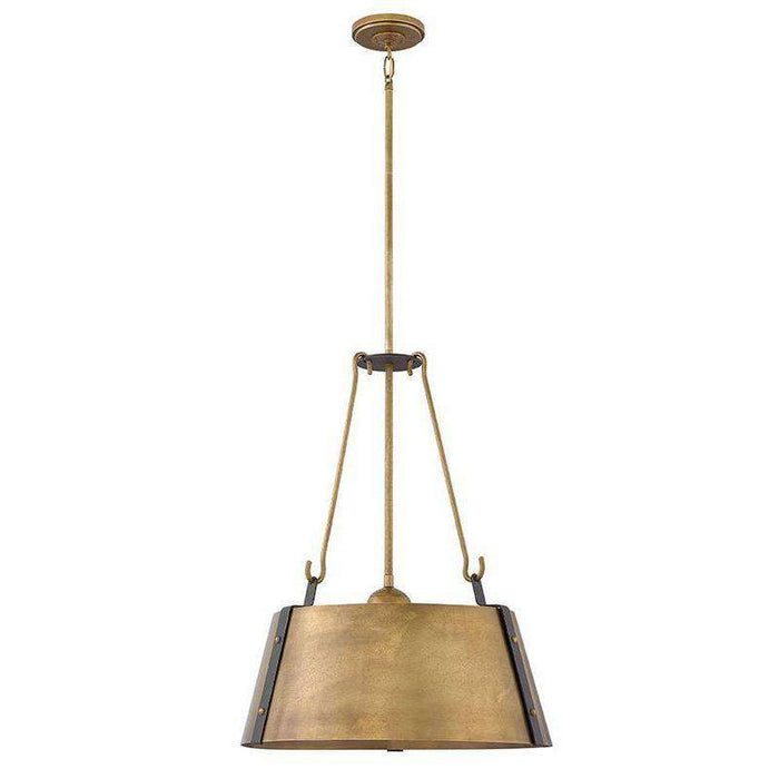 Cartwright Chandelier Rustic Brass