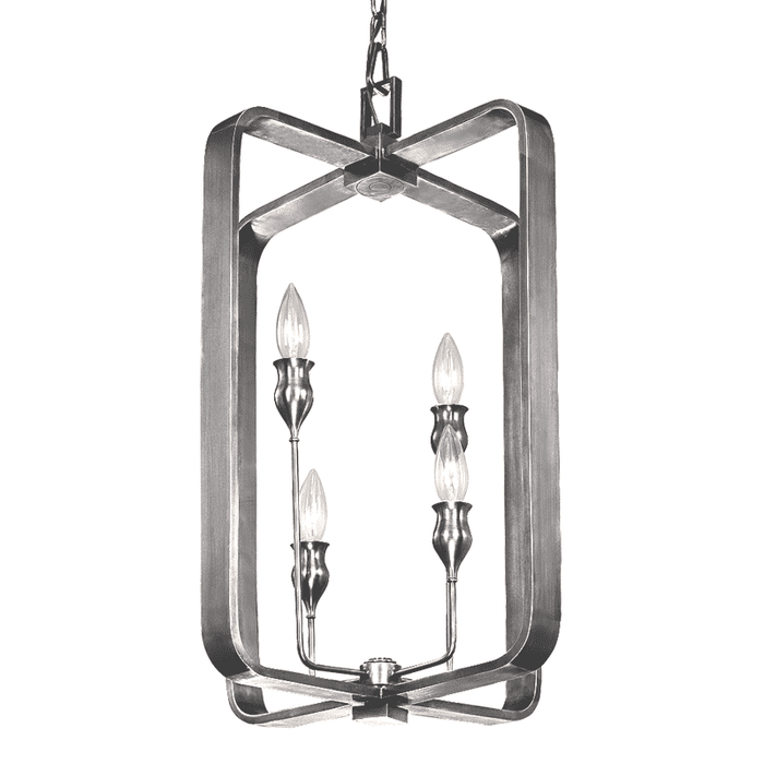 Rumsford 4 Light Pendant Polished Nickel