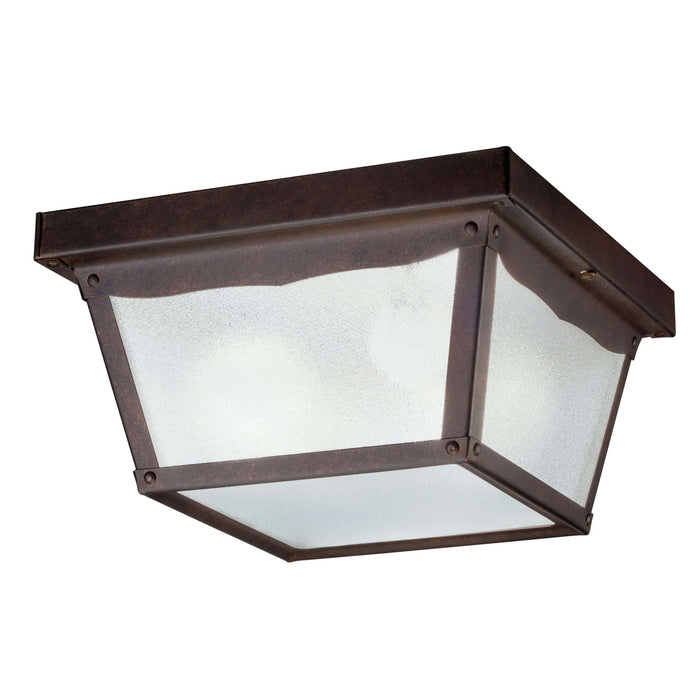 Outdoor Ceiling 2 Light - Tannery Bronze