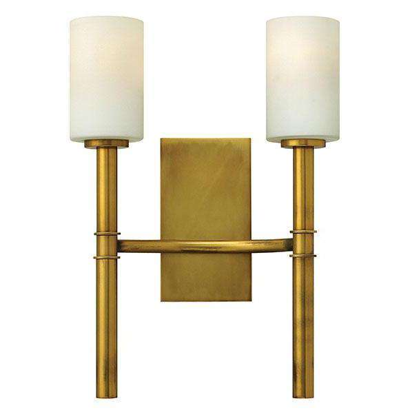 Margeaux Two Light Sconce Vintage Brass