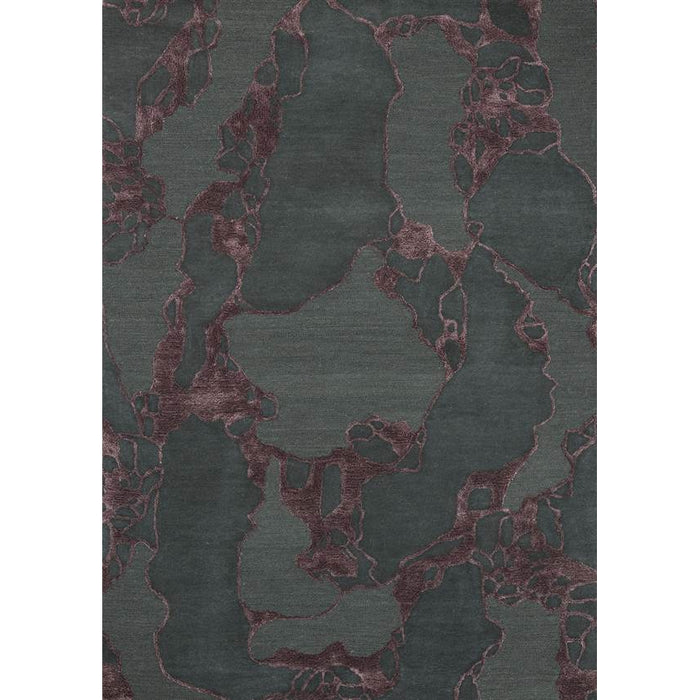 ARCO BORDEAUX area rug by Linie Design