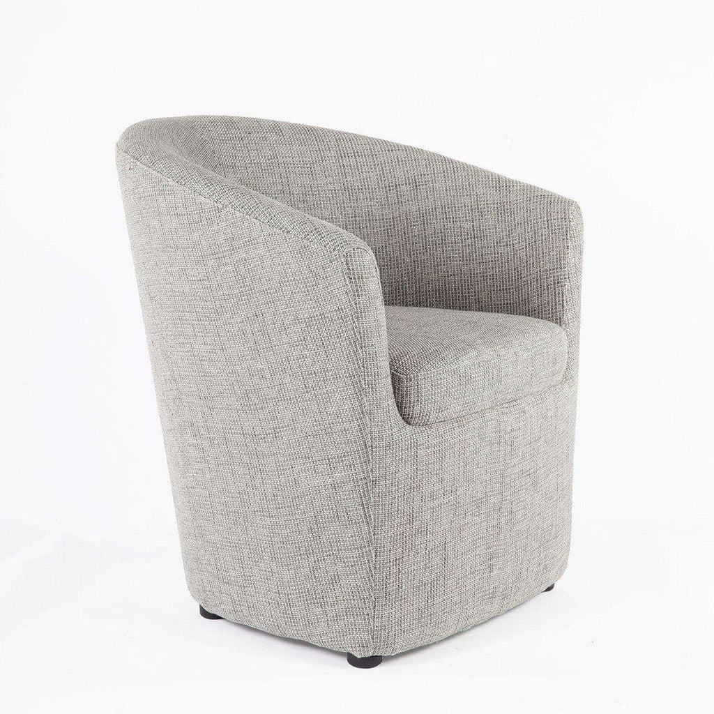 Modern Arabella Lounge Chair - Grey