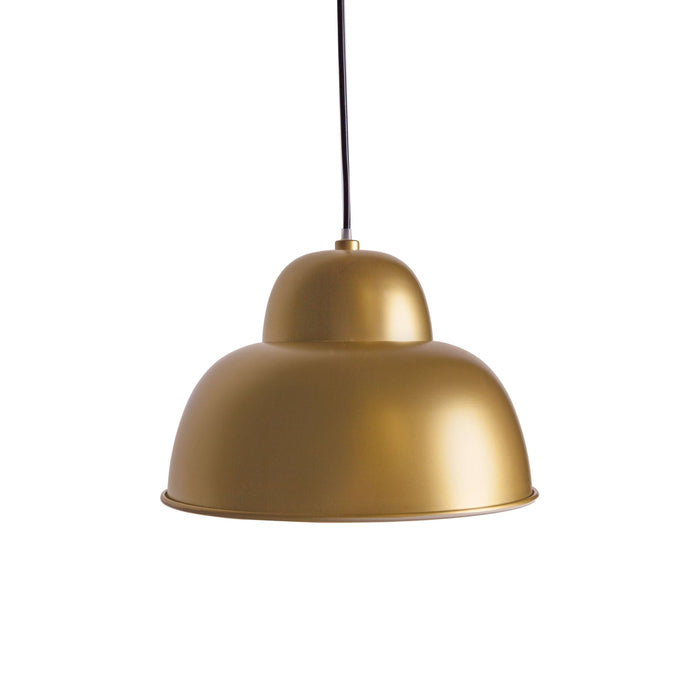 Gold Bell Pendant Light