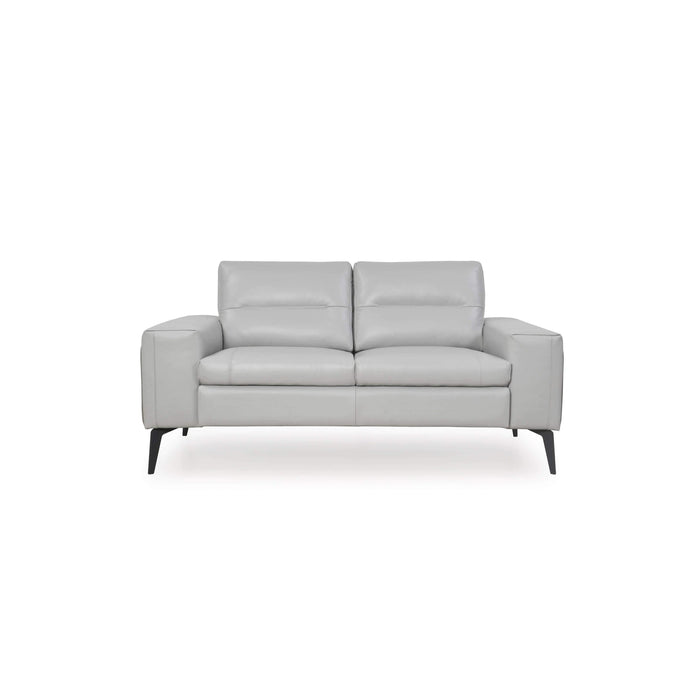 Titos Full Leather Loveseat