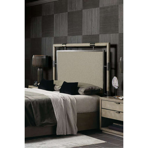 Electra Upholstered Panel Bed