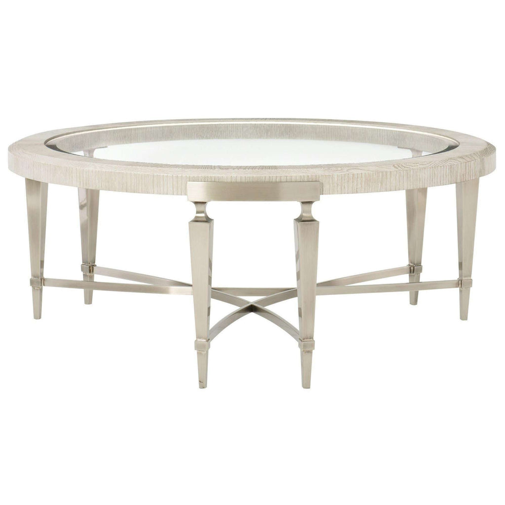 Blanche Round Cocktail Table