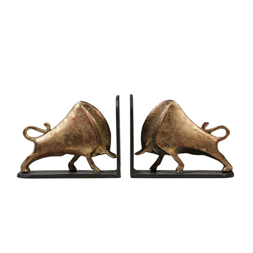 BUNGALOW 5 - BISONI BOOKENDS GOLD - BUNGALOW-BIS-1742-808