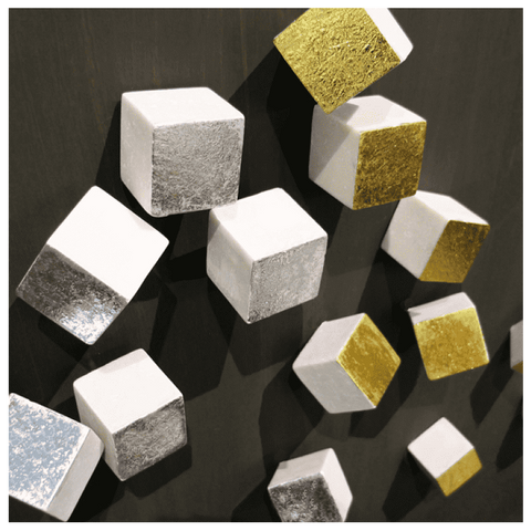 Cube Wall Play - Silver Set Of 20